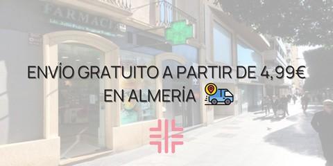 Envíos gratis a Almería Ciudad según códigos postales